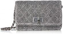 Aldo Pavon - Borse a tracolla Donna, Grey (Dark Grey), 4x12x19 cm (W x H L)