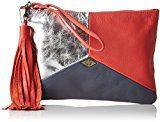 MohekannAnatolie - Pochette Donna , rosso (Rouge (Frenchy)), 2x16x24 cm (W x H x L)