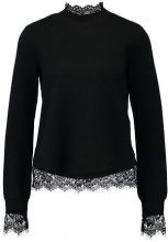 YAS YASLIVA KNIT LS TOP Maglione black