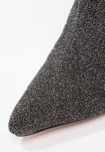 BEBO TEGAN Stivaletti con tacco black glitter