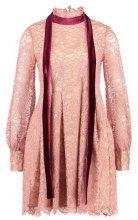 Endless Rose VELVET NECK TIE LACE  Vestito elegante azalea pink