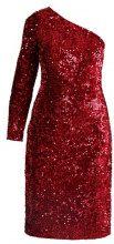Dorothy Perkins ONE SHOULDER DRESS Tubino red