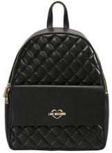 Love Moschino QUILTED BACKPACK Zaino nero