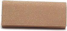 Borsette Barachini  borsa a mano, in tessuto glitterato, colore rame E7102