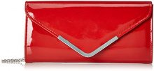 Tamaris Brianna Clutch Bag - Pochette da giorno Donna, Rot (Red), 5x13x26 cm (B x H T)