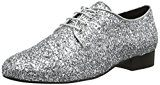 Buffalo LondonES 30848 GLITTER - Scarpe stringate Donna , Argento (Silber (Prata 01)), 39 EU