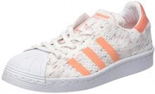 adidas Superstar 80S Prime Knit, Scarpe da Ginnastica Basse Donna, Bianco (Footwear White/Core Black/Grey One), 39 1/3 EU