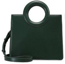 Topshop SHASTA CIRCLE HANDLE BOX TOTE Borsa a mano green