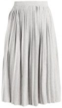 b.young SOFI SKIRT Gonna a campana light grey melange