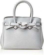 Save My Bag Petite Miss, Borsa a Mano Donna, Argento (Filigrana Met), 26x23x13 cm (W x H x L)