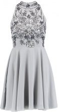Lace & Beads Petite REISE SKATER Vestito elegante grey