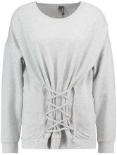 Vero Moda VMCORSI Felpa light grey melange