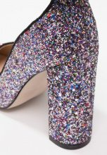 BEBO BAZZI Decolleté mixed glitter