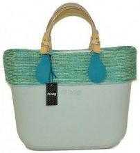 Borsette O Bag  borsa mini polvere con manici corti bordo e sacca