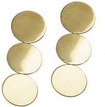 Uncommon Matters Orecchini a perno Donna placcato_oro - EARRING #1 GOLD