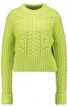 Topshop BOUTIQUE CABLE Maglione lime