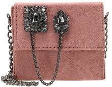 New Look EMBELLISHED MICRO BOXY Borsa a tracolla shell pink