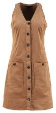 Banana Republic BUTTON FRONT SHIFT Vestito estivo camel