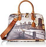 Ynot i-325, Borsa Bowling Donna, Multicolore (Fame in New York), 34.5x35x15 cm (W x H x L)