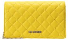 Love Moschino QUILTED CROSSBODY Borsa a tracolla giallo