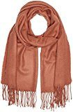 PIECES KIAL LONG SCARF NOOS, Sciarpa Donna, Marrone (Copper Brown), Taglia unica
