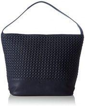 TamarisFLO Hobo Bag - Borse a Tracolla Donna , Blu (Blu (Navy 805)), 39x29x17 cm (B x H x T)