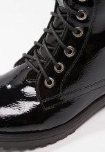 XTI Stivali con i lacci black