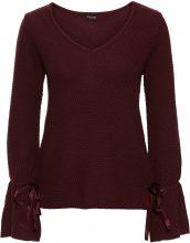 Pullover con stringatura (Rosso) - BODYFLIRT