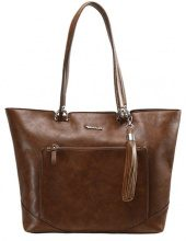 Tamaris MELANIE SHOPPING BAG Shopping bag cognac