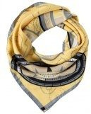 LION - Foulard - yellow/grey