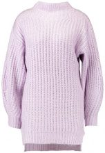 Miss Selfridge CHUNKY FUNNEL NECK BALLOON SLEEVE Maglione lilac