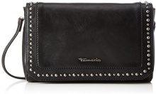 Tamaris Precious Clutch Bag - Pochette da giorno Donna, Schwarz (Black), 15x4,5x23 cm (B x H T)