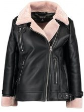 Topshop LOLA BIKER  Giacca in similpelle black