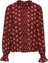 Blusa in chiffon (Rosso) - BODYFLIRT