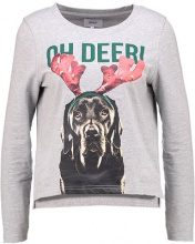 Only Petite ONLDEER O NECK Felpa light grey melange