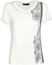 T-shirt Caf? Noir  JT106 T-shirt Donna Bianco