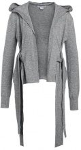 Lost Ink BOW SIDE Cardigan grey