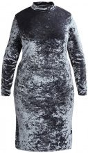 Glamorous Curve DRESS Vestito di maglina grey blue