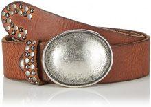 MGM - Paris, Cintura da donna, marrone (cognac 1), 90 cm (Taglia produttore: 90)