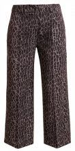 The Editor LEOPARD WIDE Pantaloni military