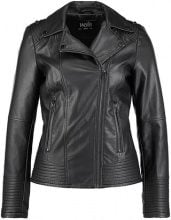 Wallis CURVE SEAM BIKER Giacca in similpelle black