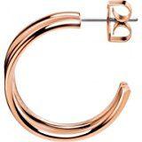 Calvin Klein Orecchini a Cerchio Donna acciaio_inossidabile - KJ2GPE100100