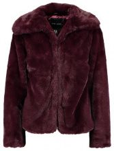 New Look SHORT FAUX COAT Giacca invernale burgundy