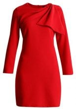 Cortefiel DRESS WITH SIDE BOW DETAIL Vestito estivo red