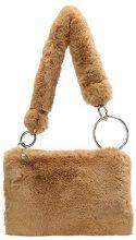 Topshop B&B TEDDY Borsa a mano camel