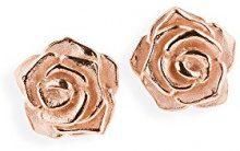 Drachenfels–Orecchini da donna argento, Rose of Antoine rotvergodelt–D ROF 21/RG