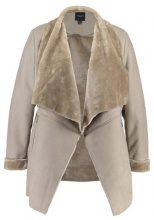 New Look Curves WATERFALL Cappotto corto mink