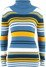 Pullover a collo alto (Blu) - bpc bonprix collection