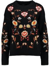 New Look ALL OVER JUMPER Maglione black pattern
