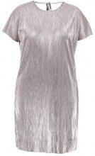 Second Script Curve NOVA PLISSE DRESS Vestito elegante silver